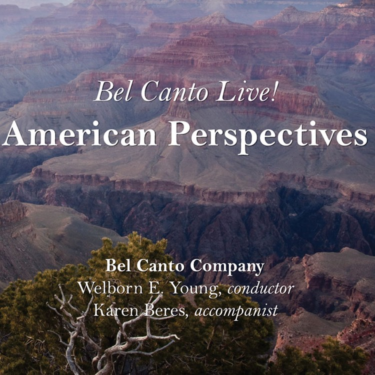 Bel Canto Live! American Perspective Cover
