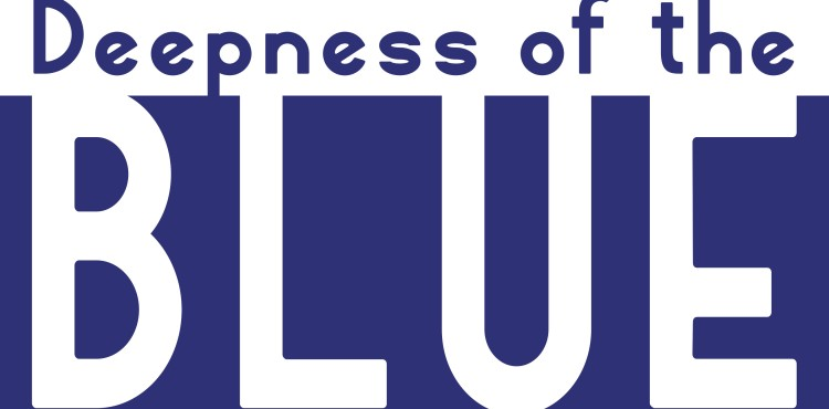 Deepness of the Blue concert poster