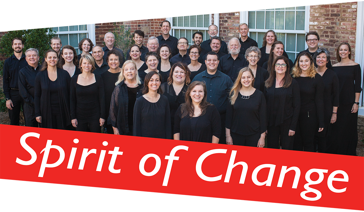 Spirit of Change - Choir Photo