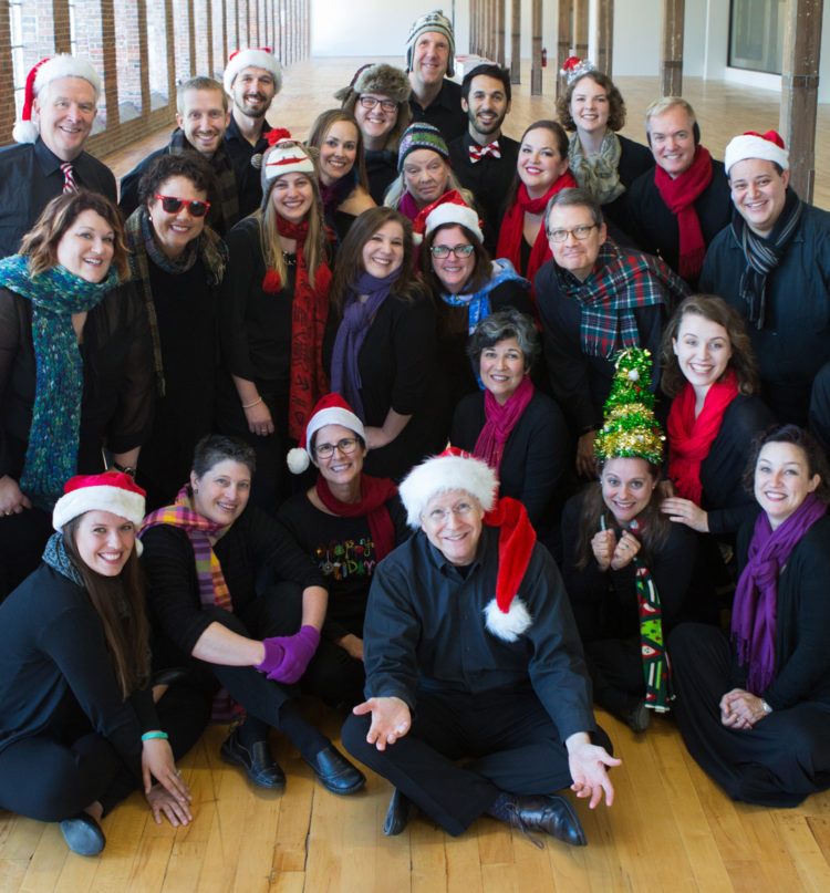 Bel Canto dressed in holiday garb